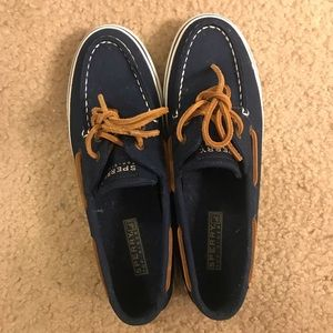 Canvas Sperry's - Size 6.5